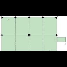 Универсальный утепленный пол берег 2×1 м