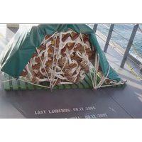 Чехол защитный из прорезиненной ткани для посадочных шторм-трапов у плотов 900 Х