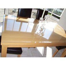 Гибкое стекло на стол толщина 0,8мм  60см х 80см