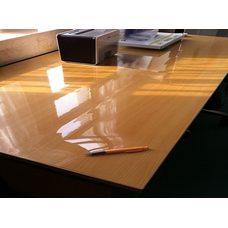 Гибкое стекло на стол толщина 0,8мм  60см х 130см