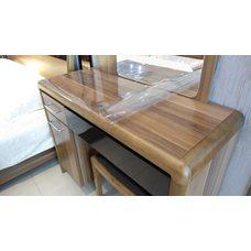 Гибкое стекло на стол толщина 0,8мм  60см х 140 см