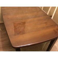Гибкое стекло на стол толщина 0,8мм  80см х 80см