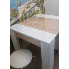 Гибкое стекло на стол толщина 0,8мм  80см х 140см