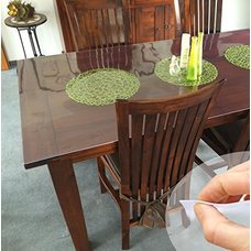 Гибкое стекло на стол толщина 0,8мм  80см х 150см