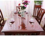 Прозрачная клеенка для обеденного стола