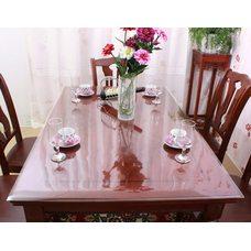 Гибкое стекло на стол толщина 0,8мм  70см х 120см