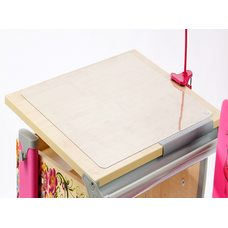Коврик на стол прозрачный толщина 1 мм 40см х 60см