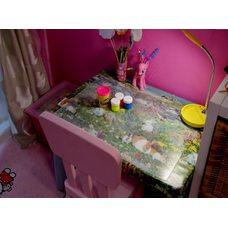 Накладка на стол толщина 2 мм 50см х 120 см