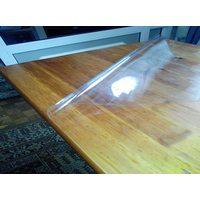Прозрачная накладка на стеклянный стол из ПВХ универсальная