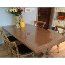Прозрачная защита для стола толщина 2 мм. 120см х 200см