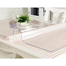 Накладка прозрачная на стол толщина 2 мм. 120см х 320см