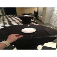 Прозрачная скатерть на круглый стол 1мм диаметр 70