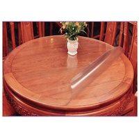 Прозрачная скатерть на круглый стол 1мм диаметр 100