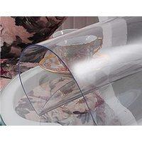 Прозрачная скатерть на круглый стол 1мм диаметр 107