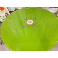 Прозрачная скатерть на круглый стол 1мм диаметр 110