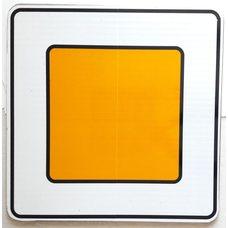 Чехол на квадратный дорожный знак