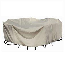 Чехол на комплект мебели круглый 2.5х2.5х1 метра
