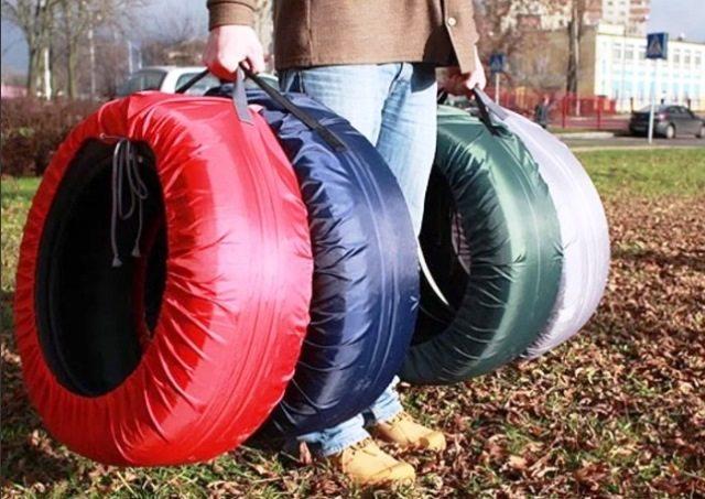 Защитные чехлы для автомобильных колес и запасок