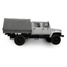 Тент автомобильный на ГАЗ 33081 (Егерь) двухсторонняя усиленная ткань