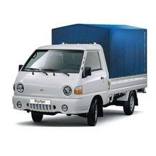 Тент на Hyundai Портер 2,9х1,7х1,3м. синий