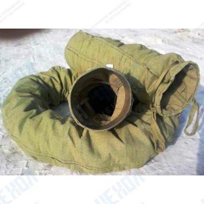 Брезентовый рукав для сброса мусора