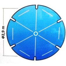 Тент для уличного зонта d 2,9