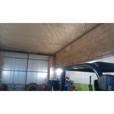 Технический потолок в помещение СТО
