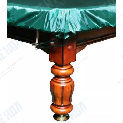 Чехол на бильярдный стол София 10 футов, зеленый, влагостойкий
