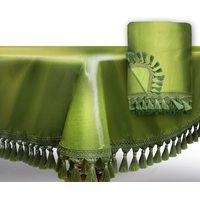 Покрывало для бильярдного стола Император 10 футов, светло-зеленое