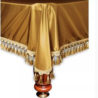 Покрывало для бильярдного стола Венето, 7 футов, темное золото
