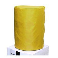 Чехол однотонный без окна желтый