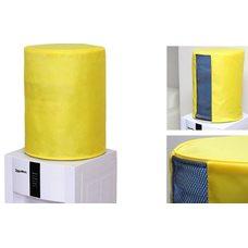 Чехол однотонный с окном желтый