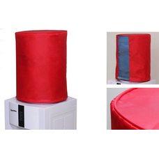 Чехол однотонный с окном красный