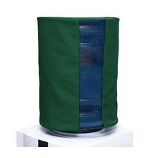 Чехол однотонный с окном зеленый