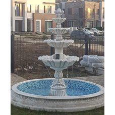 Чехол всепогодный на уличный фонтан