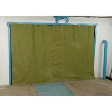 Защитный занавес-штора для ворот гаража
