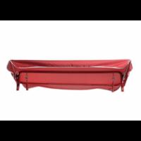 Тент-крыша для качелей, 215 × 149 см, бордовый. Ткань Оксфорд