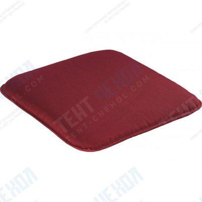 Подушка для садовой мебели бордовая 45х45х5,5