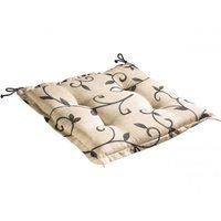 Подушка для садовой мебели бежевая 46х46х6