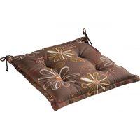 Подушка для садовой мебели коричневая