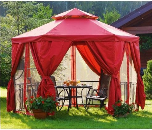 Тент- крыша для шатра и беседки