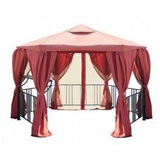 Комплект для беседки Нью-Йорк 2, крыша, шторы и москитные сетки