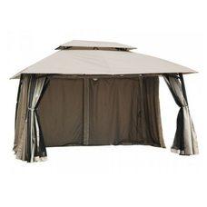 Боковые шторы для садовой беседки (цвет кофе) 3х4м