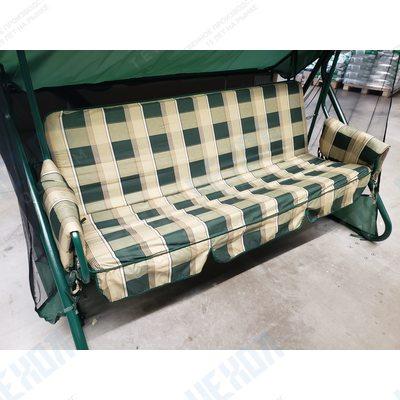 Подушки для садовых качелей – от дизайна до выбора наполнителя
