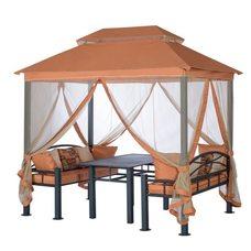 Текстильный комплект для садовой беседки Удачная мебель Перу