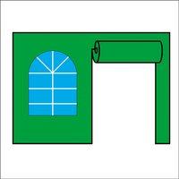 """Стенка с окном и рулонной дверью 5 м. Для шатра-автомат """"пагода"""" (gaze"""