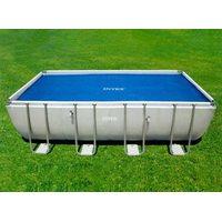 Тент покрывало для прямоугольного бассейна rectangular pool cover 460х226 см