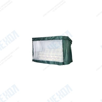 Чехол-москитная сетка 2в1 для садовых качелей (прямая крыша)