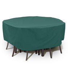 Чехол BLUMEN HAUS на набор садовой мебели круглый 200х75 см
