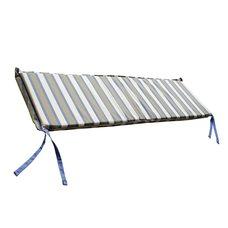 Подушка для скамьи Morbiflex, Цвет бежевый, голубой, белый